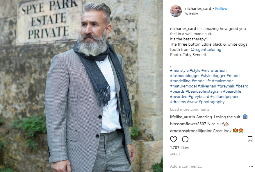 ZINE Influencer Marketing Blog |  nigel instagram