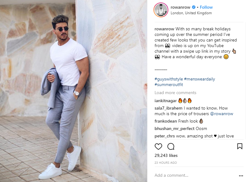 ZINE Influencer Marketing Blog | rowan instagram