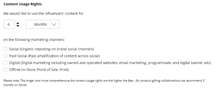 content usage rights best practices