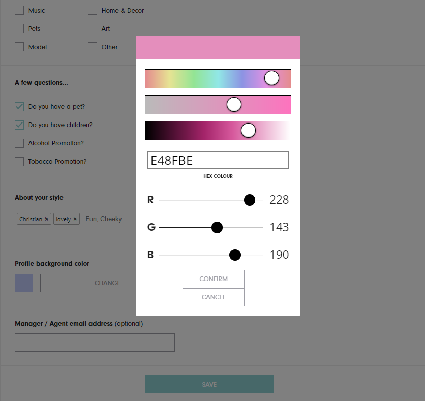 ZINE Influencer Marketing Blog | colour of your media kit